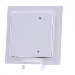 Выключатель для подключения к шине с одной/двумя клавишами B4T65, белый