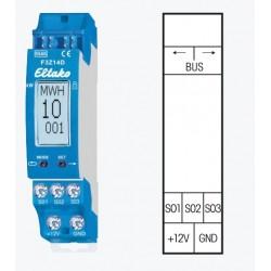 Концентратор F3Z14D для сбора сведений о потреблении электричества, газа и воды