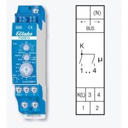 Реле 4х-канальное для управления нагревом и охлаждением F4HK14, до 4А/220В