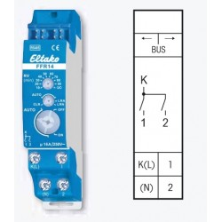 Реле 2х-канальное с функцией «главный выключатель» FFR14, до 16А/220В