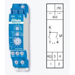 Реле 4х-канальное универсальное с таймером FSR14-4x, до 4А/220В