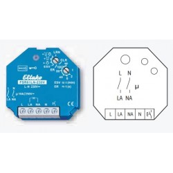 Реле биполярное с 2-мя размыкающимися контактами (L и N) с таймером FSR61LN-230V, до 10А/220В