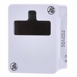 Датчик влажности и температуры с солнечной панелью и защитой FAFT60, белый