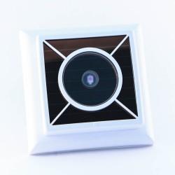 Датчик освещенности с солнечной панелью с защитой  FAH65S, белый