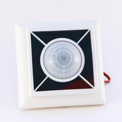 Датчик движения и освещенности с солнечной панелью FBH65S, белый