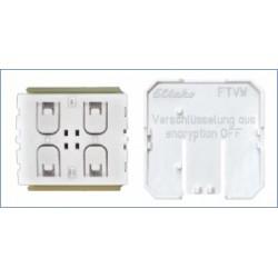 Дополнительная пластиковая рамка FTVW включает режим шифрования для беспроводных выключателей