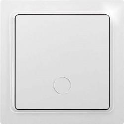 Выключатель беспроводной TF-1FT кнопочного типа, белый